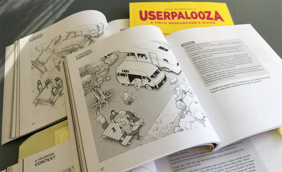 .. USERPALOOZA because its easier to design for a customer you understand. A Field Researchers Guide